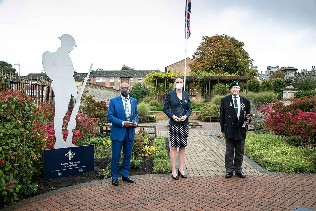 RBLI Tommy Club Launch Ceremony Veteran Founding Patrons